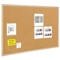 Tablice szkolne, BI-OFFICE Tablica korkowa BI-OFFICE, 90x60cm, rama drewniana - 5603750170129
