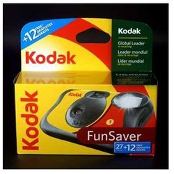 Kodak aparat FUN Saver 400/27 +12