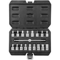 Zestawy narzędzi ręcznych, Zestaw kluczy do spustu oleju NEO 11-235 3/8 cala (18 elementów) + DARMOWY TRANSPORT!