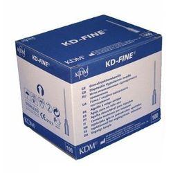 Igły iniekcyjne KD Medical - Fine 0,6 mm x 30 mm, 100 szt.