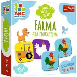 Farma ABC Malucha gra edukacyjna 01944 Trefl