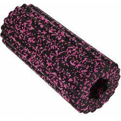 Roller joga - wałek do masażu czarno-różowy