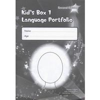 Książki do nauki języka, Kid's Box 1 Second Edition. Language Portfolio (opr. miękka)