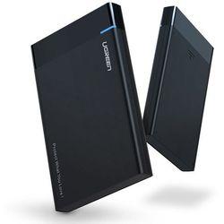 Ugreen kieszeń na dysk HDD SSD obudowa dysku SATA 2,5'' USB 3.0 czarny (30847)