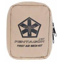 Apteczki, Apteczka Pentagon Hipokrates First Aid Kit Coyote (K19029-03) - coyote
