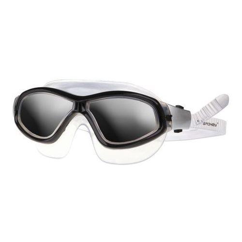 Okularki pływackie, Spokey Murena okularki - półmaska (niebieskie)