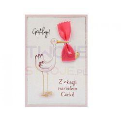 KARTKA NARODZINY HM 200-1670 17x12cm