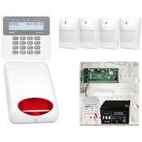 Zestawy alarmowe, Alarm do domu biura Satel Perfecta 16 4xPIR + Manipulator PRF-LCD + Akcesoria