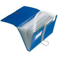 Teczki, Teczka rozkładana organizer A4 Easy Orga HERLITZ - niebieski