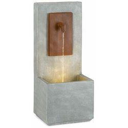 Blumfeldt Milos, fontanna, LED, do użytku wewnątrz i na zewnątrz, kabel o długości 5 m, cement, szara
