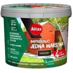 Impregnat Altax Drewno Beton palisander 10 l