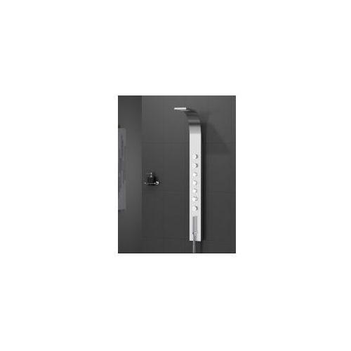 New trendy aquos panel prysznicowy, inox exp-0003 * wysyłka gratis