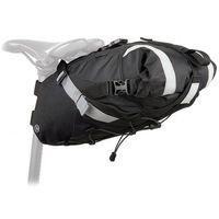 Sakwy, torby i plecaki rowerowe, Torba podsiodłowa AUTHOR Sumo X7 czarny
