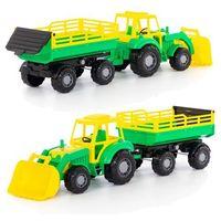 Traktory dla dzieci, Altaj, traktor z przyczepą Nr2 i łyżką