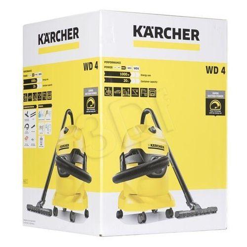 Odkurzacze przemysłowe, Karcher WD 4