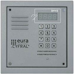 Panel cyfrowy CYFRAL PC-2000RE Srebrny z czytnikiem RFiD i elektroniką