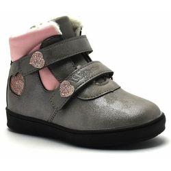 Dziecięce buty zimowe Wojtyłko 21005 Szare
