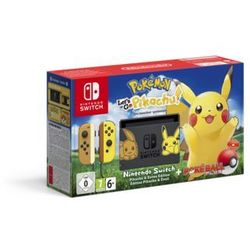 Nintendo Switch Pokemon: Let´s Go Pikachu! Limited Edition
