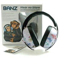 Pozostałe bezpieczeństwo w domu, Słuchawki ochronne nauszniki dzieci 0-3lat BANZ - Butterfly