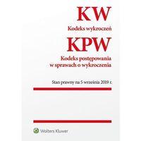 Książki prawnicze i akty prawne, Kodeks wykroczeń Kodeks postępowania w sprawach o wykroczenia (opr. broszurowa)