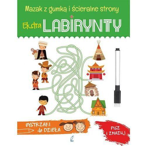 Książki dla dzieci, Extra Labirynty. Bystrzaki do dzieła (opr. miękka)