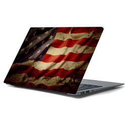 Naklejka na laptopa - Amerykańska flaga 4429