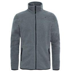 Polar 100 GLACIER FULL ZIP MEN - medium grey heather