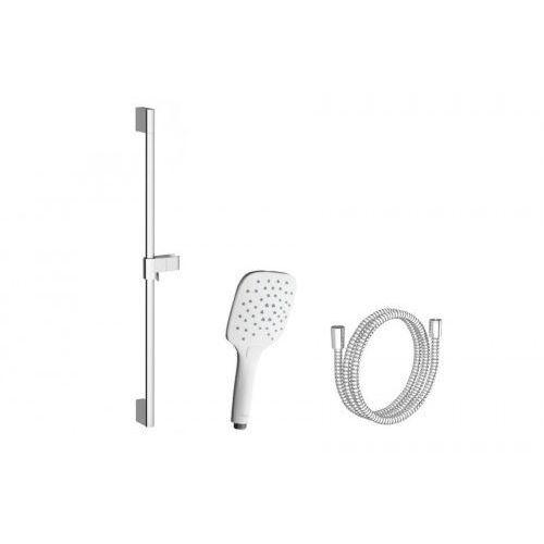 Ravak zestaw prysznicowy-wąż 150cm, słuchawka air biała, drążek 70cm 958.10 x07s002