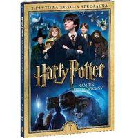 Filmy fantasy i s-f, HARRY POTTER I KAMIEŃ FILOZOFICZNY. 2-PŁYTOWA EDYCJA SPECJALNA (2DVD) (Płyta DVD)