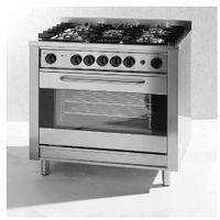 Piece i płyty grzejne gastronomiczne, Kuchnia gastronomiczna gazowa 5-palnikowa Kitchen Line