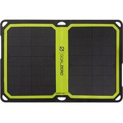Goal Zero Nomad7 Plus, przenośny panel solarny, turystyczna ładowarka słoneczna.