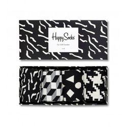 Skarpetki Happy Socks Giftbox (4-pak) XBLW09-9001 - Czarny