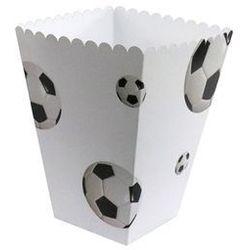 Pudełka na popcorn Piłka Nożna - 6 szt.