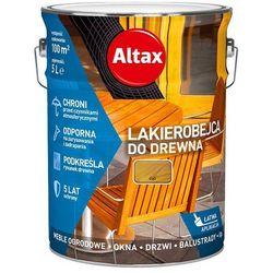 ALTAX- lakierobejca do drewna, dąb, 5 l