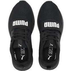 Puma Buty Wired Run Jr 374214 01 Czarny