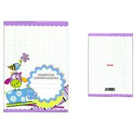 Pozostałe artykuły papiernicze, Okładka etui na książeczkę zdrowia dziecka, PVC - 5-niebieski hipopotam