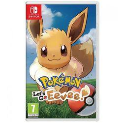 Pokemon: Let's Go, Eevee! (SWITCH) // WYSYŁKA 24h // DOSTAWA TAKŻE W WEEKEND! // TEL. 696 299 850