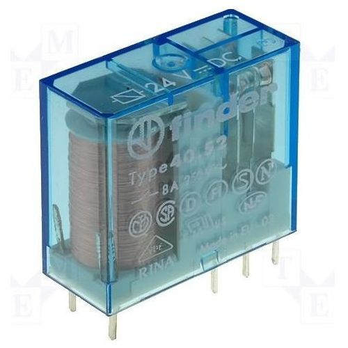 Przekaźniki, Przekaźnik 2CO 8A 14V DC styki AgNi+Au 40.52.9.014.5001