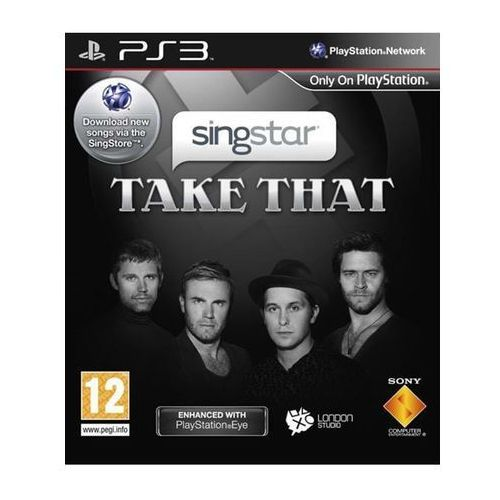 Akcesoria do PlayStation 3, SingStar:TakeThat u/mikrofoner - Sony PlayStation 3 - Muzyka