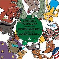Książki dla dzieci, Kontynenty Ameryka Północna (opr. kartonowa)