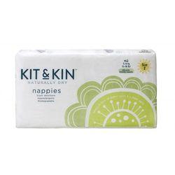 Kit and Kin Biodegradowalne Pieluszki Jednorazowe Midi (5-8kg) Mix Wzorów 40szt