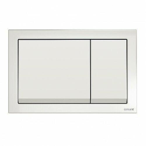 enter przycisk spłukujący, biały k97-365 marki Cersanit