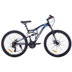 "MOUNTAIN FULL 26"" 2XT FD/RD black/blue"