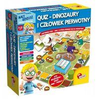 Puzzle, Liscianigiochi Maly Geniusz, Quiz - Dinozaury i czlowiek pierwotny
