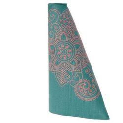Mata do jogi mandala niebieska Lotus Design