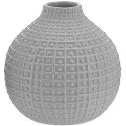 Ceramiczny wazon na kwiaty, dekoracje - okrągły, Ø 18 cm