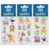 Naklejki, Naklejki Sticker BOO silver zwierzaki