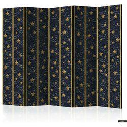 SELSEY Parawan 5-częściowy - Koronkowy gwiazdozbiór