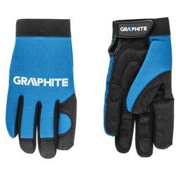 Rękawice robocze GRAPHITE Czarno-niebieski (rozmiar 10)