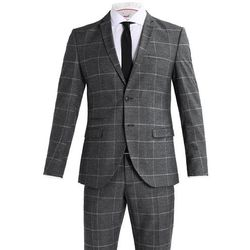 Selected Homme SHDONE MYLODRAKE CHECK Garnitur medium grey melange